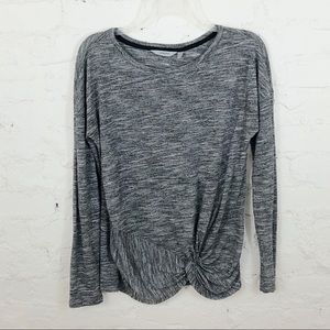 Athleta Twist Knot Long Sleeve Shirt